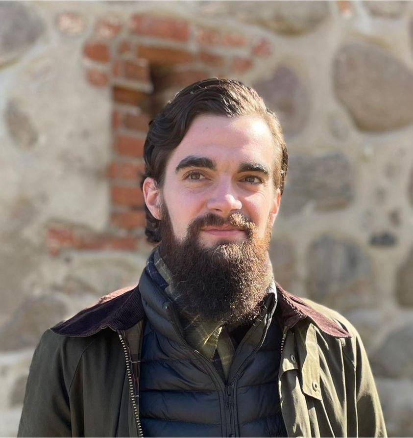 Simon Rohlwin<br>Driftledare på Jordberga<br> <br>
